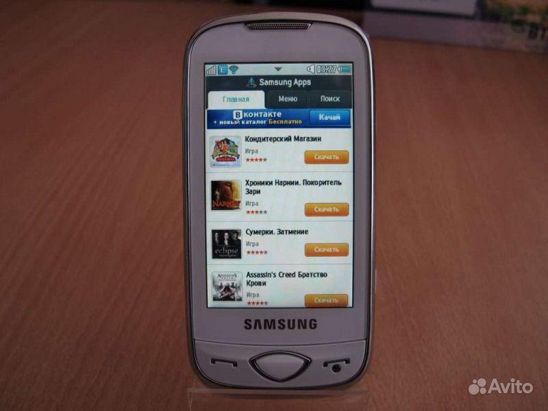 Samsung gt-s5560 noble black (quadband, 30 400x240@256k, gprs+bt+wifi, microsd, 5mpx, 95г)