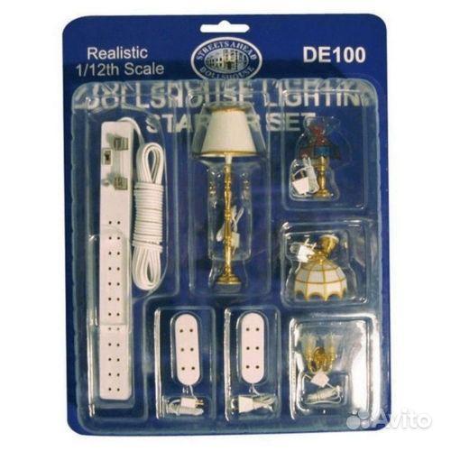 Освещение в кукольный домик