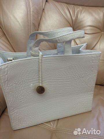 брендовая сумка фурла белая - Сумки