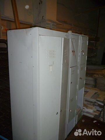 Металлические шкафы для одежды б/у
