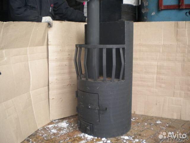 Печь для бани своими руками из трубы чертежи фото