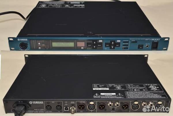 Yamaha rev 5 (ревербератор легенда, даст фору многим современным!!!!), питание 110 вольт- 18000 руб