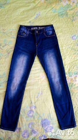 Глория джинс джинсы с вышивкой 324