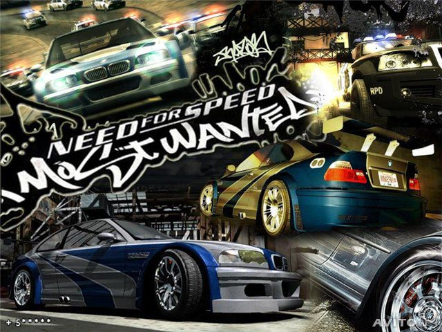 Need for speed most wanted, Обои на рабочий стол из игры Need for Speed Mo