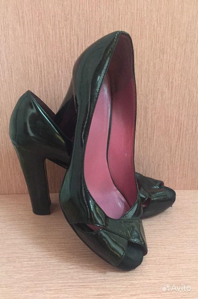 b0276e62b Лакированные чёрные туфли Carlo pazolini 37 р | Festima.Ru ...