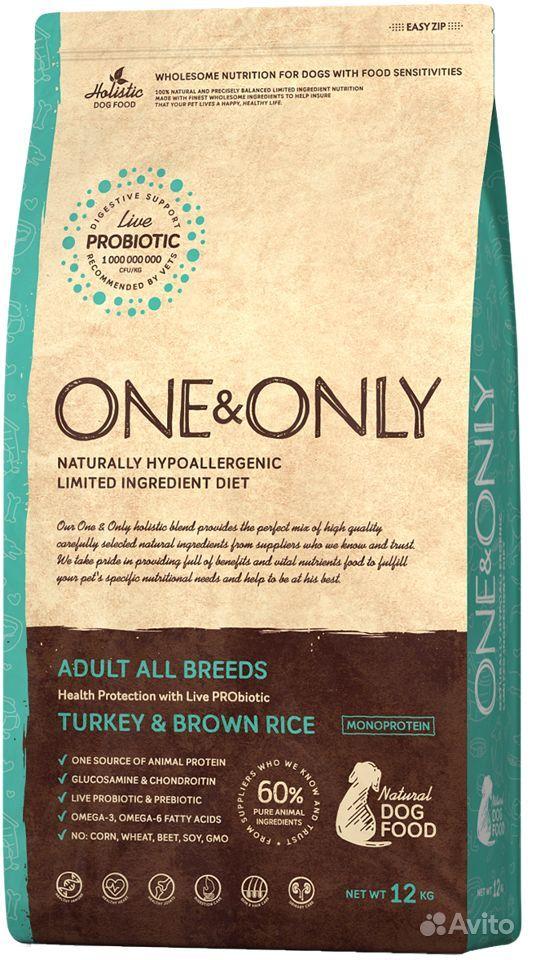 One & Only корм для взрослых собак всех пород 12кг