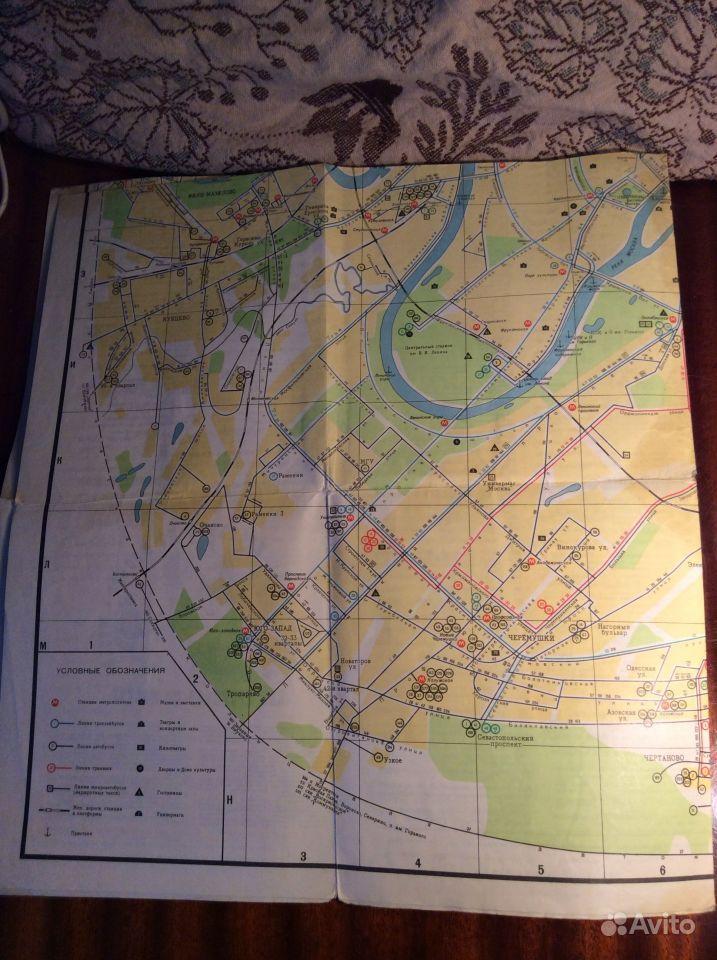 Схема маршрутов транспорта