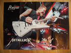 Плакат Metallica poster Hetfield N17 постер
