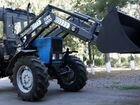 Turs-1000 монтируется на трактора мтз Беларус-82.1