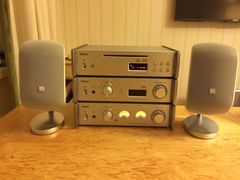 Teac Reference 501 + Bowers and Wilkins M1