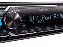 Магнитола Bluetooth Kenwood kmm-303bt