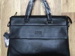 Мужская кожаная сумка H.Boss Lux Мужские сумки3 999 руб.Москва cc8b17311a0