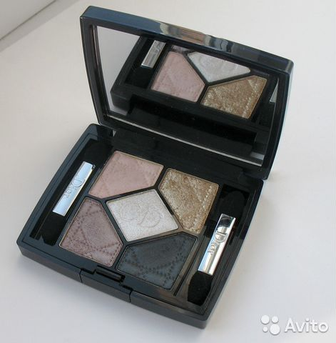 Тени Christian Dior 5 Couleurs Golden Snow— фотография №1