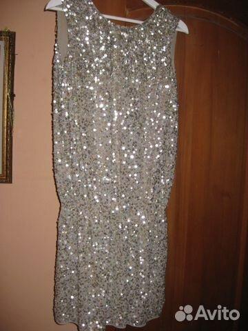 8df76123dd7 Продам вечернее платье mango (одето 2 раза) пайетк— фотография №1