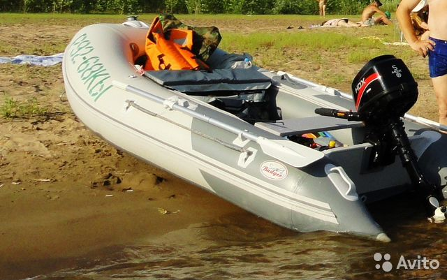 комплект лодки пвх и мотор hdx