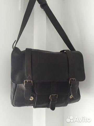 1d0f9bae716c Кожаная сумка унисекс Pellevera | Festima.Ru - Мониторинг объявлений