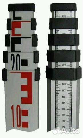Рулетка нивелирная телескопическая ts5m брелок рулетка для бейджа с клипом durable