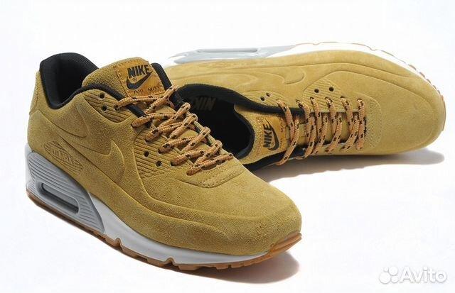 8b43c365 Кроссовки Nike air max 90 VT замшевые. Песочные | Festima.Ru ...