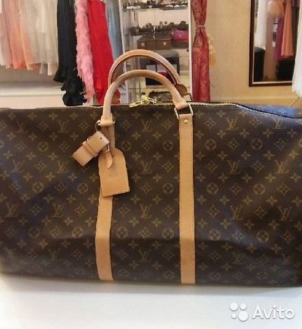 Дорожная Луи Виттон Louis Vuitton Keepal Monogram   Festima.Ru ... fad6b5ead88