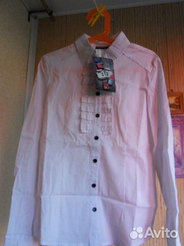 64a17cf519f Две школьных блузки для худенькой девочки купить в Нижегородской ...