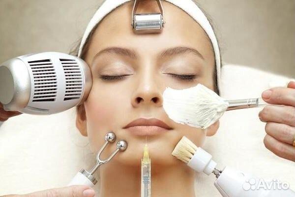 Чистка лица врачом косметологом