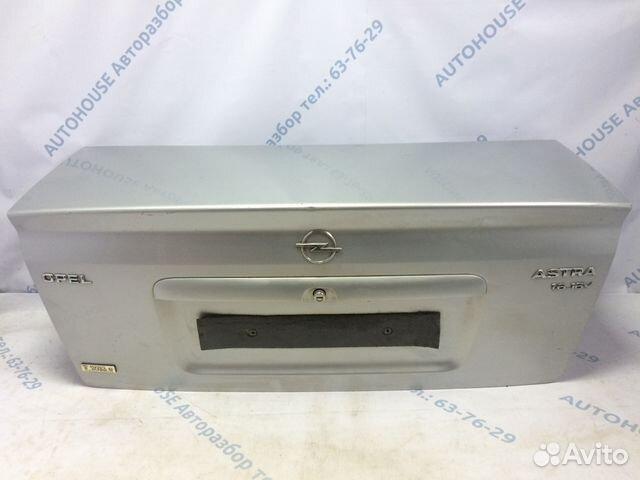 89657347629 Крышка багажника Opel Astra G