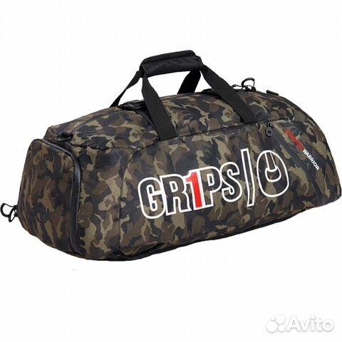 e3b0ce15f95e Спортивная сумка-рюкзак Grips Woodland Camo | Festima.Ru ...