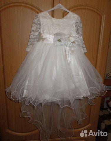 c46811e86bf7d38 Нарядное платье Mialora на 6 лет купить в Рязанской области на Avito ...