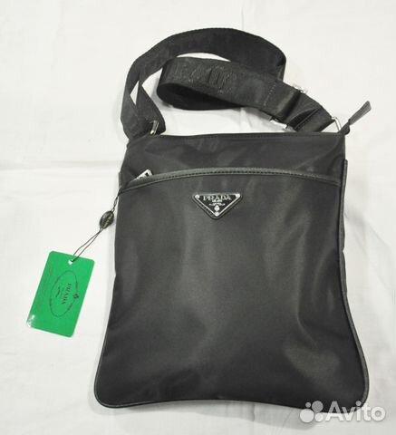 Мужская сумка через плечо   Prada   новая купить в Москве на Avito ... 3d3d3063a47