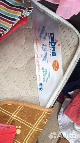 Кровать с матрацем продам