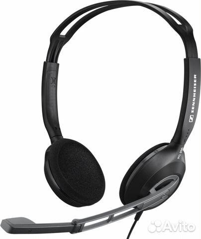 Наушники с микрофоном гарнитура Sennheiser PC 230— фотография №1 66a7751772082
