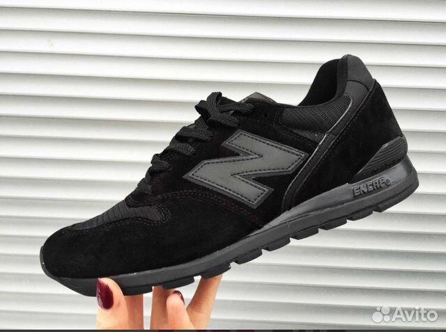 Чёрные кроссовки New Balance  2e7838683869d