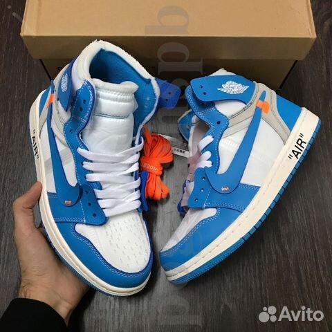 4479be5dd833 Nike Air Jordan 1 Retro x Off White купить в Санкт-Петербурге на ...