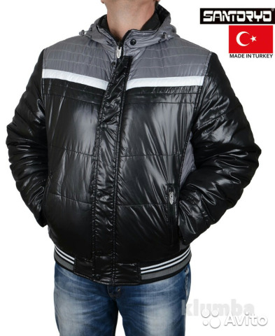 Мужская куртка Santoryo купить в Красноярском крае на Avito ... 7f3cab849e930