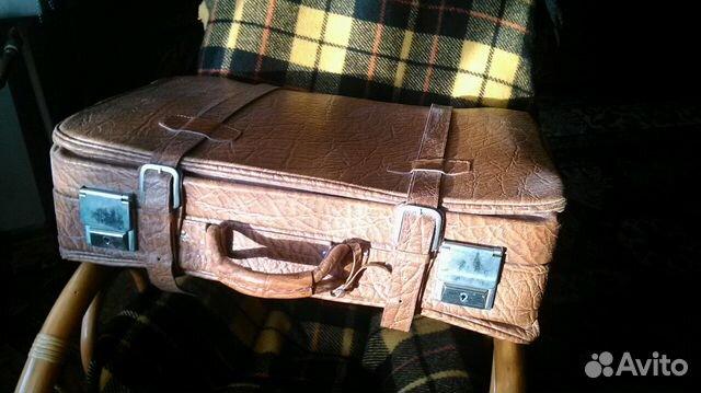 99a721ff63e9 Кожаный польский чемодан купить в Кемеровской области на Avito ...
