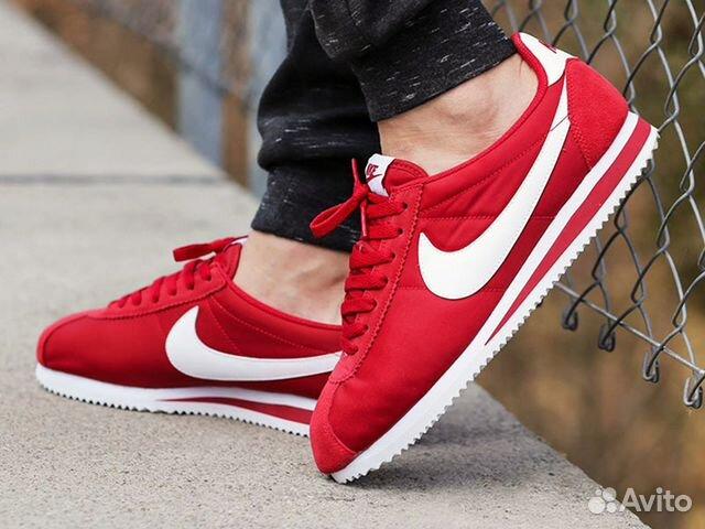 480207d5 Кроссовки Nike Cortez мужские красные купить в Москве на Avito ...