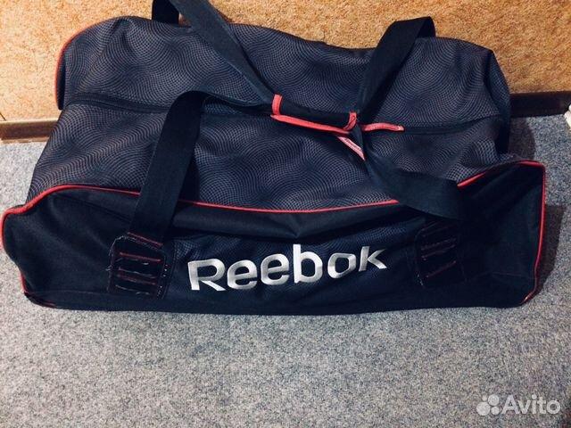 5952d425ad3e Спортивная сумка (баул) хоккейный Reebok на колеси | Festima.Ru ...