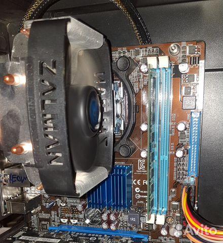 Xeon e5450 + asus p5g41t-m lx2/gb + ddr3 4g+ кулер