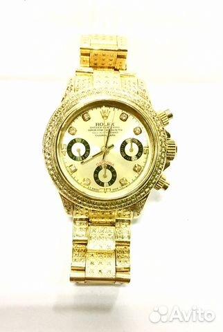 Ролекс часы из незапятнанного золота