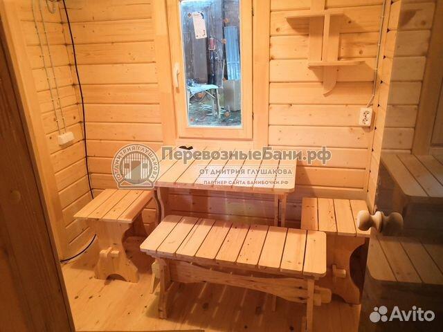 Готовая баня из клееного бруса 89675952255 купить 4