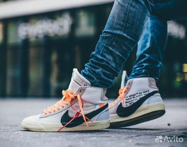 84dba6a5 Мужские кроссовки Nike Blazer коллекция 2019 купить в Москве на ...