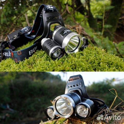 Налобный фонарь Boruit купить 3