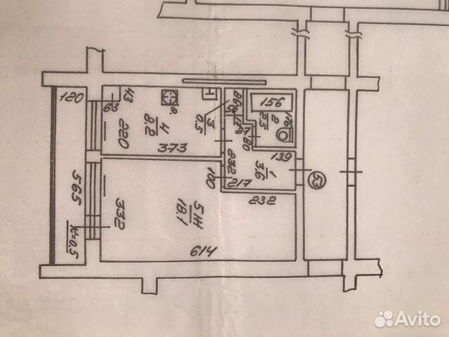 Продается однокомнатная квартира за 1 300 000 рублей. г Калининград, ул Чувашская, д 11.