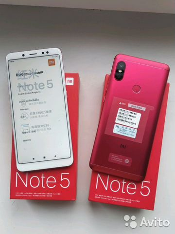 Xiaomi Redmi Note 5 32gb/64gb Rom