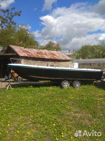 Катер для рыбалки и отдыха