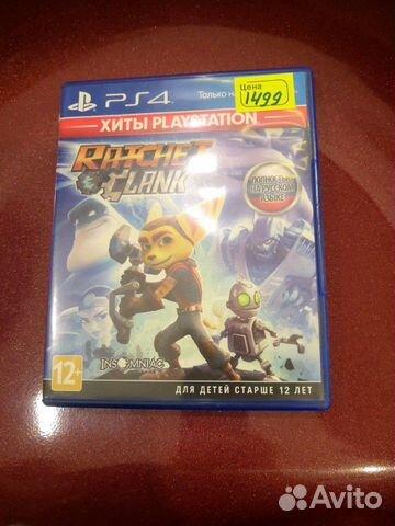 Ratchet clank ps4  89098733799 купить 1