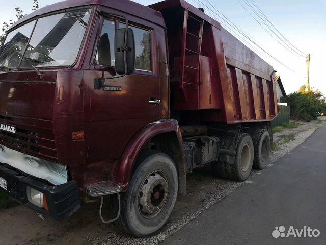 Delivery of construction materials, organics KAMAZ dump truck
