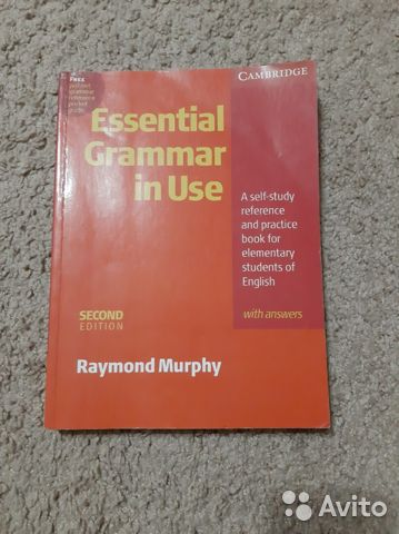 Raymond murphy english grammar in use— фотография №1