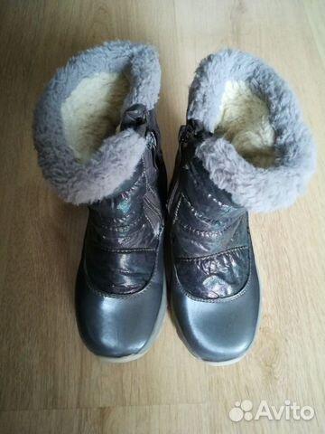 Зимние сапоги для девочки р-р 28 89515683333 купить 4