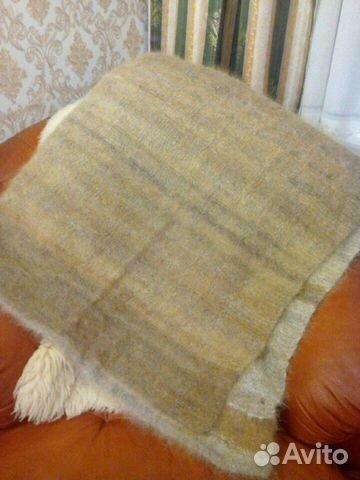 Плед из 100 собачьей шерсти 89312643809 купить 1